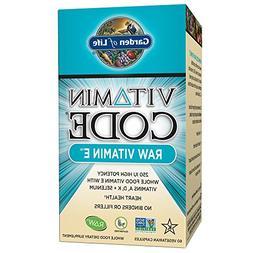 Garden of Life Vitamin E - Vitamin Code Raw E Vitamin 250 IU