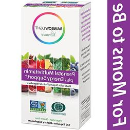 Rainbow Light Vibrance Prenatal Multi Plus Energy Support 12