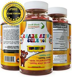 * VITA Bears for Kids * Gluten Free Kids Multivitamin – Al
