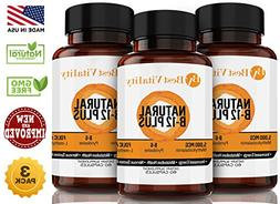 Best Vitality - Vegan Safe All Natural Vitamin B Complex B12