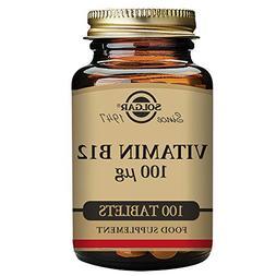 Vitamin B-12 100mcg Solgar 100 Tabs