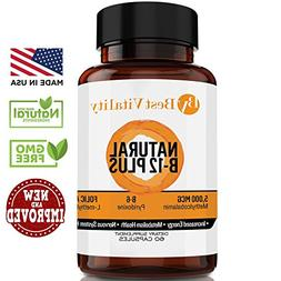 Ultimate Vitamin B Complex Dietary Supplement – Healthy &