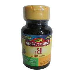 Nature Made Vitamin B-1 100 mg Tablets 100 Tablets