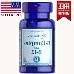 2X Vitamin B-Complex  B-12 180 Tablets Health Energy Skin Ha