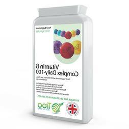 Vitamin B Complex 120 Capsules,Vitamin B5,B1,B12,B6,B3,B7,he