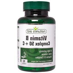 Natures Aid Vitamin B Complex + C