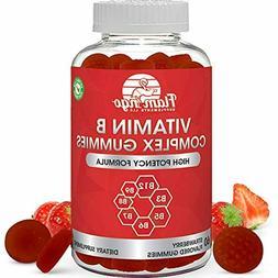 Vitamin B Complex Gummies: Vitamin B12, B7 , B6, B3 , B5, B6