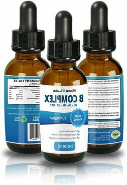BEST Vitamin B Complex Liquid | New Vitamin B12 Sublingual D