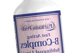 Puritan's Pride Vitamin B-Complex Sublingual Liquid with Vit
