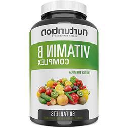 Vitamin B Complex Supplements - Methylated Super B Complex C