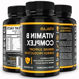Vitamin B Complex Sustained Release Vitamin B1, B2, B3, B6,