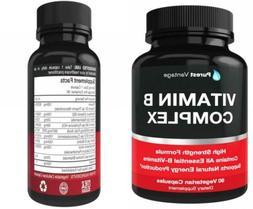 Vitamin B Complex Vitamins B12 B1 B2 B3 B5 B6 B7 B9 Folic Ac