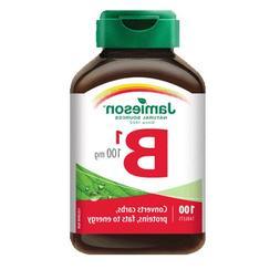 Vitamin B1  100 mg-100 tablets Brand: Jamieson Laboratories