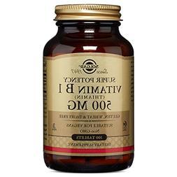 Solgar - Vitamin B-1 , 500 mg, 100 tablets