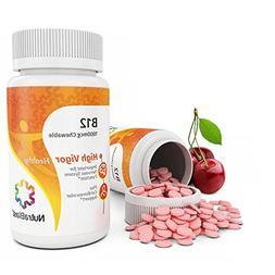 NutraBlast Vitamin B12 1000Mcg Methylcobalamin - Non-GMO - S