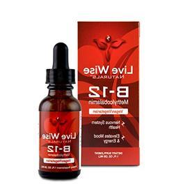 Vitamin B12 Liquid Drops; B 12 Sublingual Methylcobalamin 10