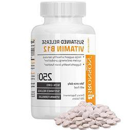 Bronson Vitamin B12 Sustained Release Non-GMO Premium Formul
