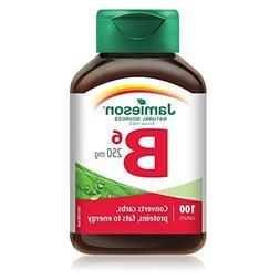 Jamieson Vitamin B6 250mg, 100 caplets