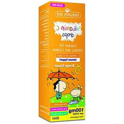 Natures Aid 50 ml Vitamin-C Drops for Infants and Children