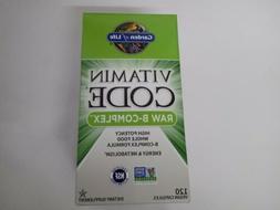 Garden Of Life Vitamin Code Raw B-Complex 120 Vegan Capsules