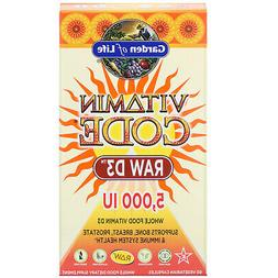 Garden of Life Vitamin Code RAW D3 Dietary Supplement - 5,00