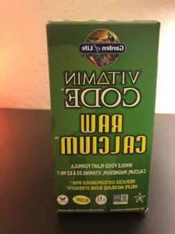 Vitamin Code - Raw Calcium 120 vcaps