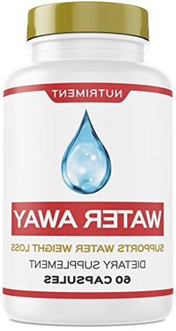 Water Away Herbal Natural Diuretic Weight Loss Blend with Ju