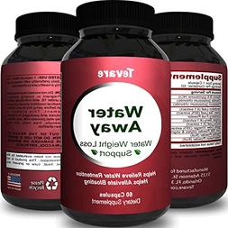 Premium Water Pills Diuretic Natural & Pure Dietary Suppleme