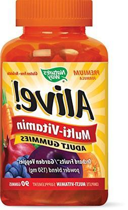 Nature's Way Alive! Multi-Vitamin Adult Gummies - 90 Gummies