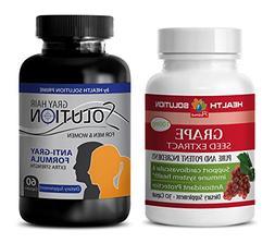 wellness vitamins tablets - GRAPE SEED EXTRACT – GREY HAIR