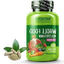 NATURELO Whole Food Multivitamin for Women - Natural Vitamin
