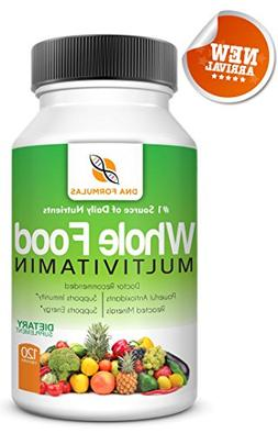 DNA Formulas Whole Food Multivitamin 120 Capsules Enhanced B