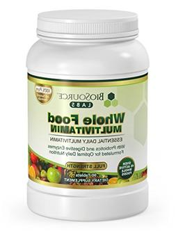 BioSource Labs Whole Food Multivitamin for Men and Women - A