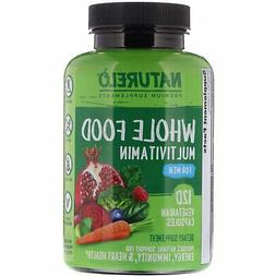 NATURELO Whole Food Multivitamin for Men - with Natural Vita