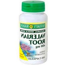 Nature's Bounty Valerian Root 450 mg 100 ea
